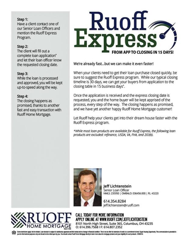 Jeff Lichtenstein | Rouff Mortgage